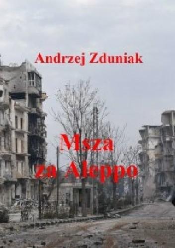 Okładka książki Msza za Aleppo