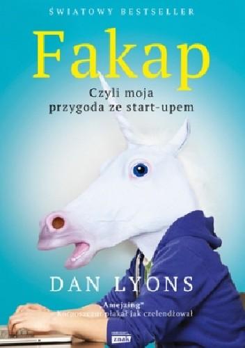 Okładka książki Fakap, czyli moja przygoda ze start-upem