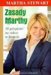 Okładka książki zasady Marthy 10 przepisów na sukces w biznesie