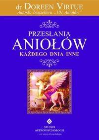 Okładka książki Przesłania aniołów na co dzień