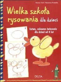 Okładka książki Wielka szkoła rysowania dla dzieci