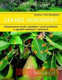 Okładka książki Lekarz ogrodowy