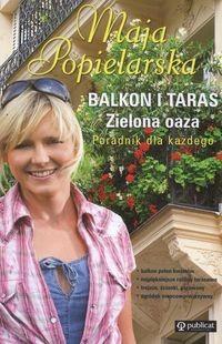 Okładka książki Balkon i taras zielona oaza