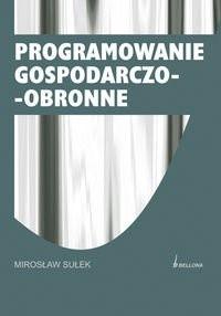 Okładka książki Programowanie gospodarczo-obronne