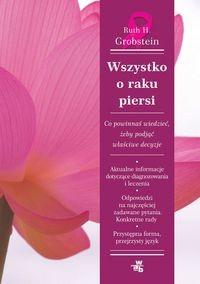 Okładka książki Wszystko o raku piersi