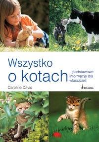 Okładka książki Wszystko o kotach