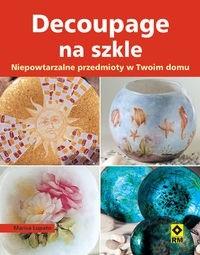 Okładka książki Decoupage na szkle