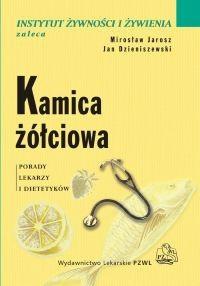 Okładka książki Kamica żółciowa. Porady lekarzy i dietetyków