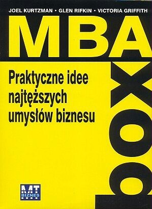 Okładka książki MBA BOX. Praktyczne idee najtęższych umysłów biznesu