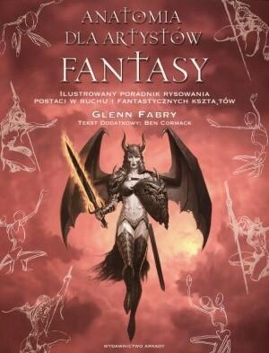 Okładka książki Anatomia dla artystów fantasy