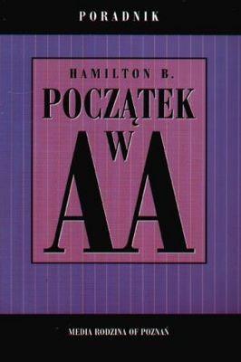 Okładka książki Początek w AA