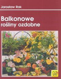 Okładka książki Balkonowe rośliny ozdobne