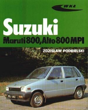Okładka książki Suzuki Maruti 800, Alto 800 MPI