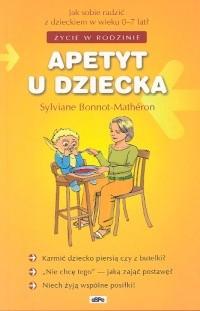 Okładka książki APETYT U DZIECKA