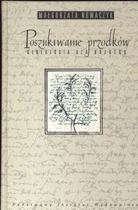 Okładka książki Poszukiwanie przodków genealogia dla każdego
