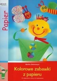 Okładka książki Kolorowe zabawki z papieru
