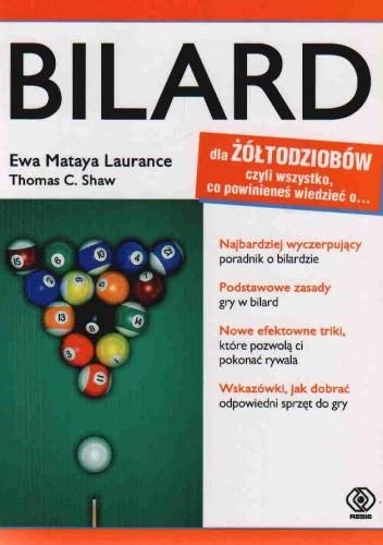 Okładka książki Bilard Dla Żółtodziobów