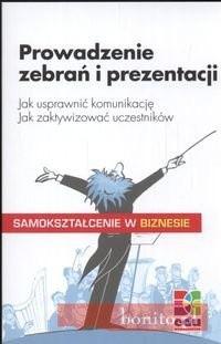 Okładka książki Prowadzenie zebrań i prezentacji