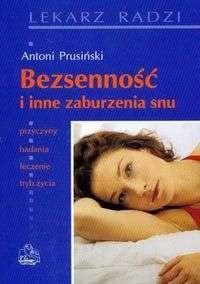 Okładka książki Bezsenność i inne zaburzenia snu