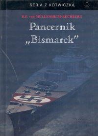 "Okładka książki Pancernik ""Bismarck"""