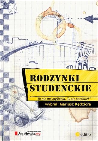 Okładka książki Rodzynki studenckie, czyli co się wykłada na wykładach