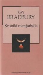 Okładka książki Kroniki marsjańskie
