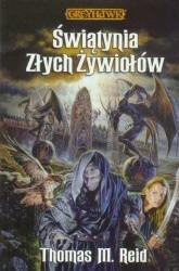 Okładka książki Świątynia Złych Żywiołów