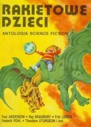 Okładka książki Rakietowe dzieci. Antologia science fiction.