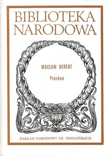 Okładka książki Próchno