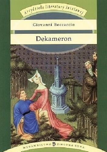 Okładka książki Dekameron