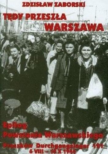 Okładka książki Tędy przeszła Warszawa