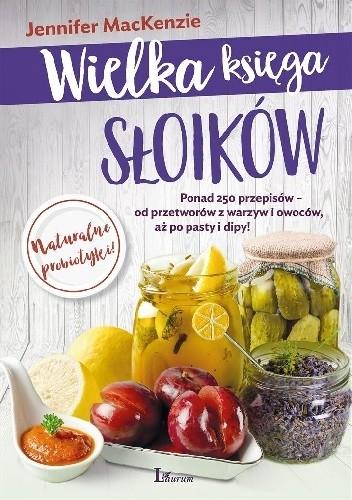 Okładka książki Wielka księga słoików