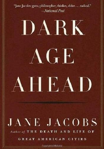 Okładka książki Dark Age Ahead