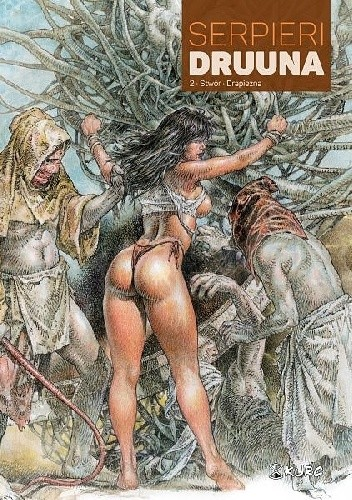 Okładka książki Druuna #2: Stwór   Drapieżna