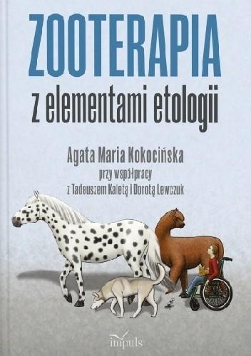 Okładka książki Zooterapia z elementami etologii