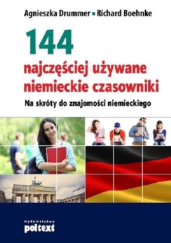 Okładka książki 144 najczęściej używane niemieckie czasowniki