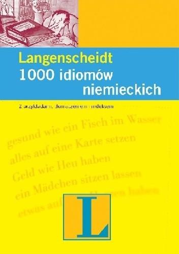 Okładka książki 1000 idiomów niemieckich