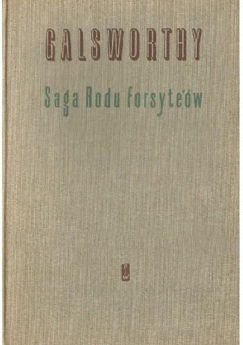 Okładka książki Saga rodu Forsyte'ów t. I