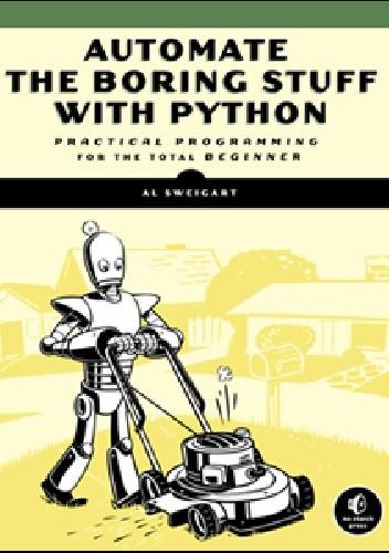 Okładka książki Automate the Boring Stuff with Python