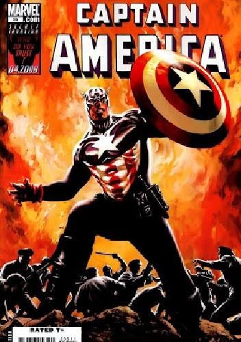 Okładka książki Captain America vol. 5 #35