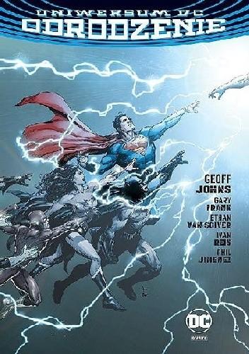 Okładka książki Uniwersum DC – Odrodzenie