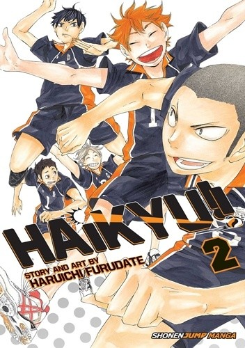 Okładka książki Haikyu!! vol. 2