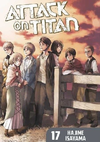 Okładka książki Attack on Titan #17