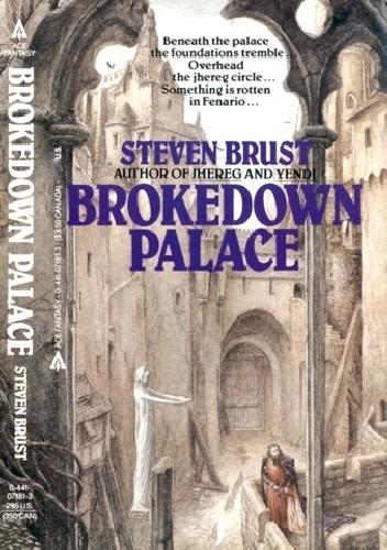 Okładka książki Brokedown Palace