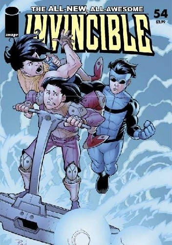 Okładka książki Invincible #54