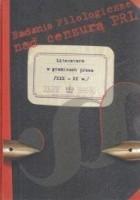 Literatura w granicach prawa /XIX-XX w./