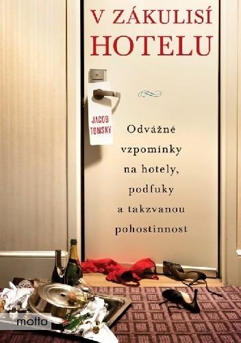 Okładka książki V zákulisí hotelu