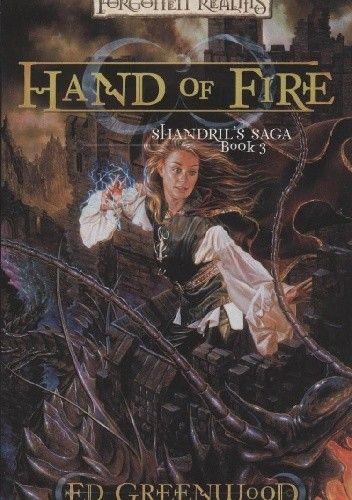 Okładka książki Hand of Fire