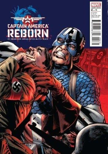 Okładka książki Captain America: Reborn #2