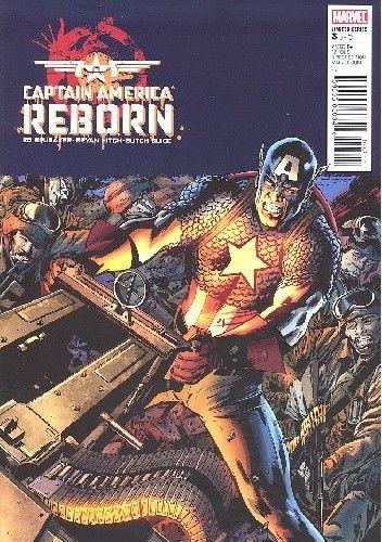 Okładka książki Captain America: Reborn #3